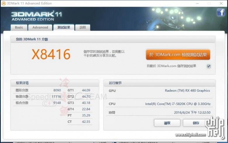 AMD RX 480 Crossfire 3DMARK