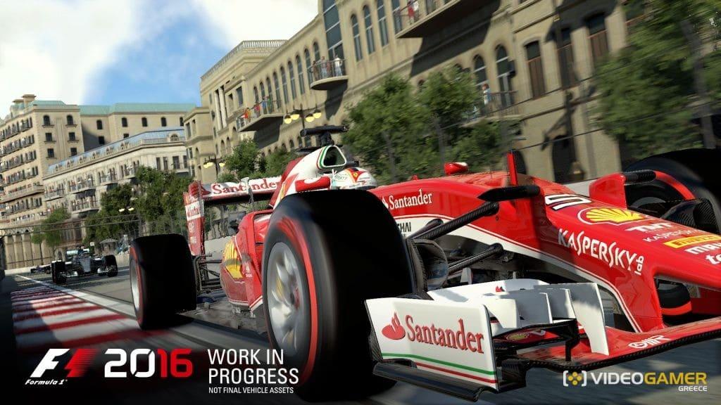 Τον Αύγουστο η κυκλοφορία του F1 2016 - videogamer.gr