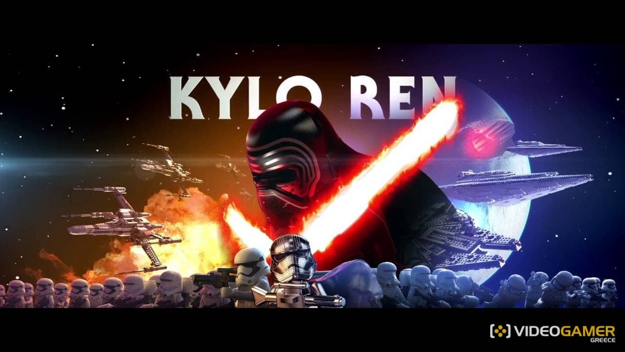 Ο Kylo Ren στο επίκεντρο του LEGO Star Wars trailer - videogamer.gr