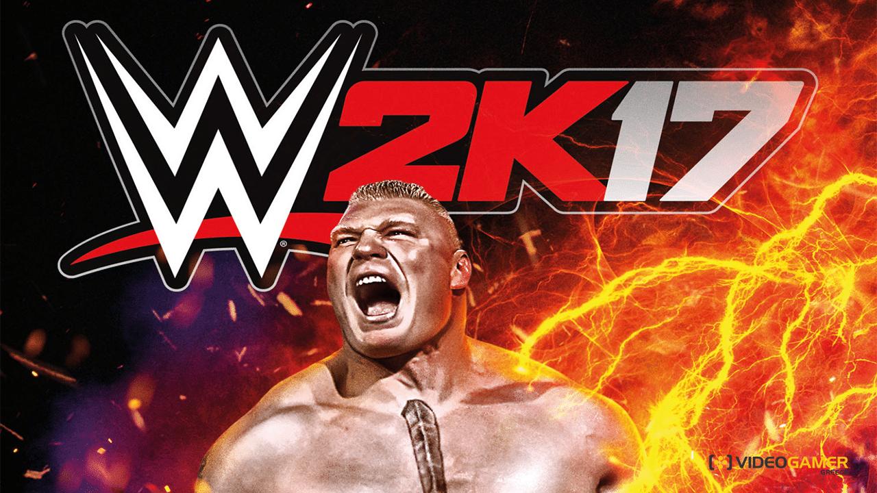 Ο Brock Lesnar στο εξώφυλλο του WWE 2K17 - videogamer.gr