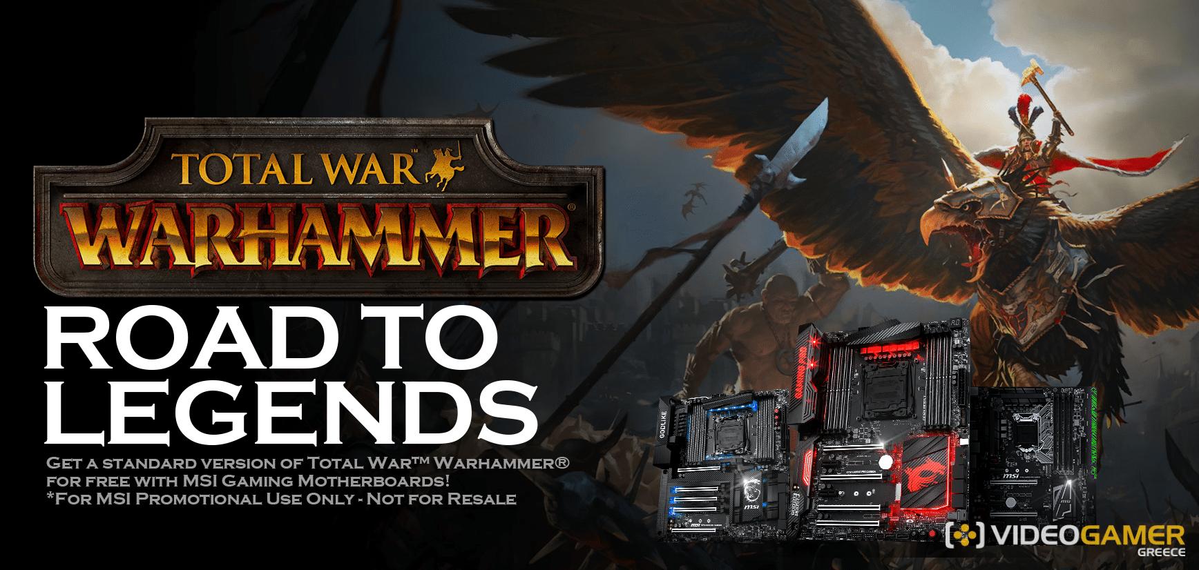 Δωρεάν το Total War: Warhammer με τις MSI Motherboard - videogamer.gr