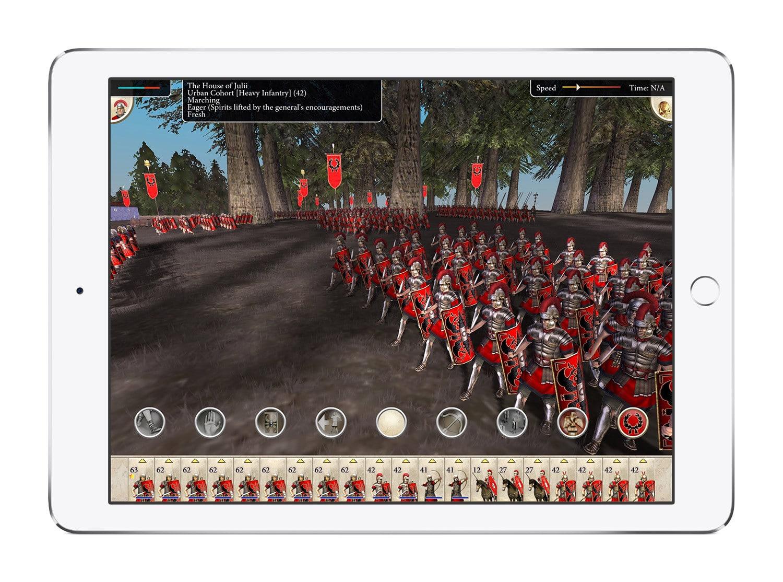 Το Rome: Total War έρχεται στο Ipad - videogamer.gr