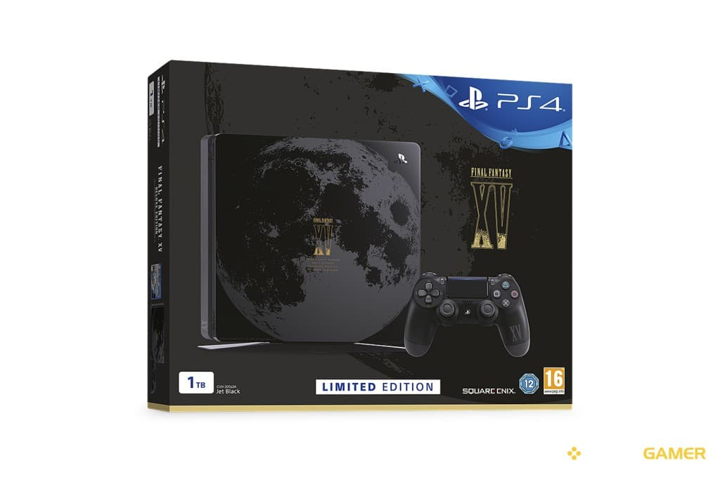 PS4 Slim Final Fantasy XV videogamer.gr