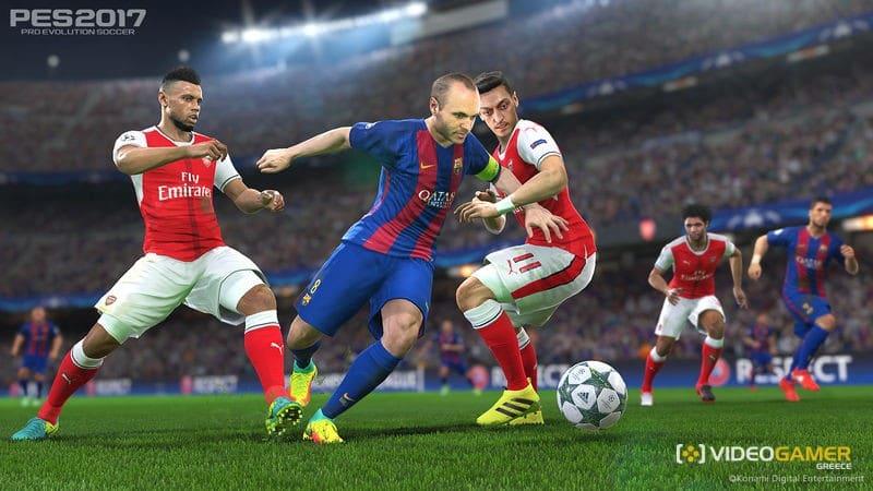 Το PES 2017 θα υποστηρίζεται στο PS4 Pro - videogamer.gr