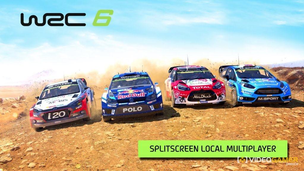 Το WRC 6 θα υποστηρίζει τοπικό split-screen multiplayer - videogamer.gr