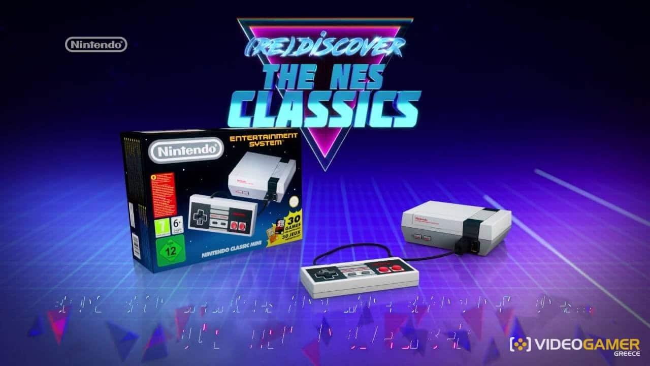 Βιώστε ξανά τις παλιές καλές ημέρες με το NES Mini - videogamer.gr