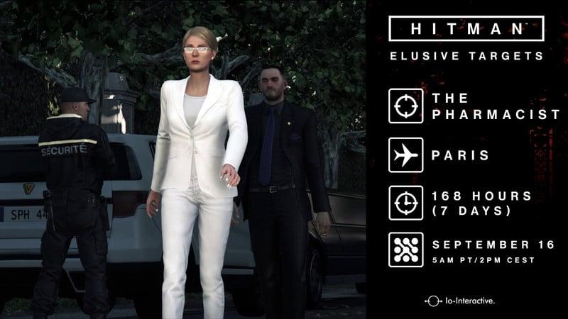Ο 'Φαρμακοποιός' ο 10ος Elusive Target του Hitman - videogamer.gr