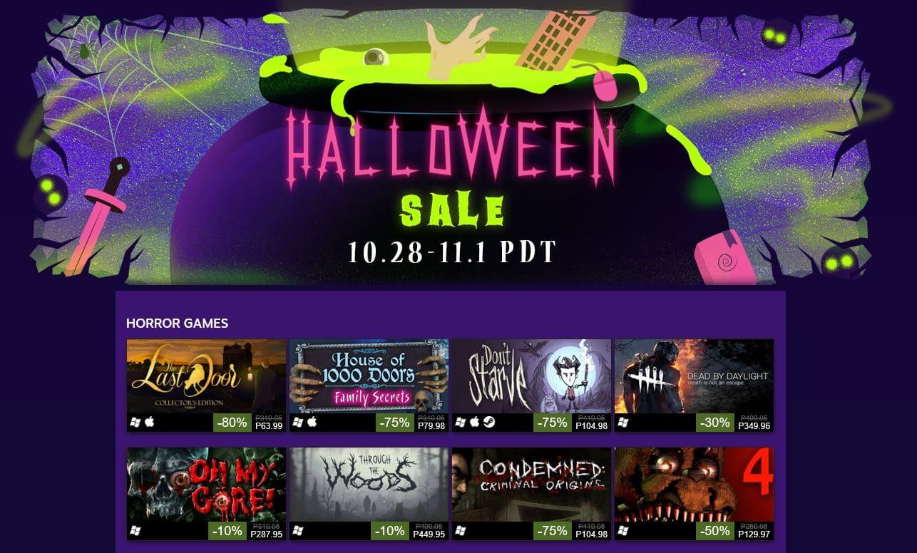 Ξεκίνησε το Halloween Steam Sale - videogamer.gr