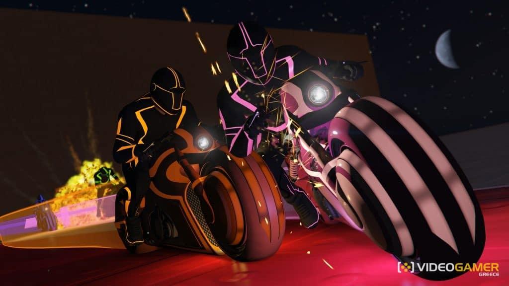 TRON καταστάσεις στο GTA Online! - videogamer.gr