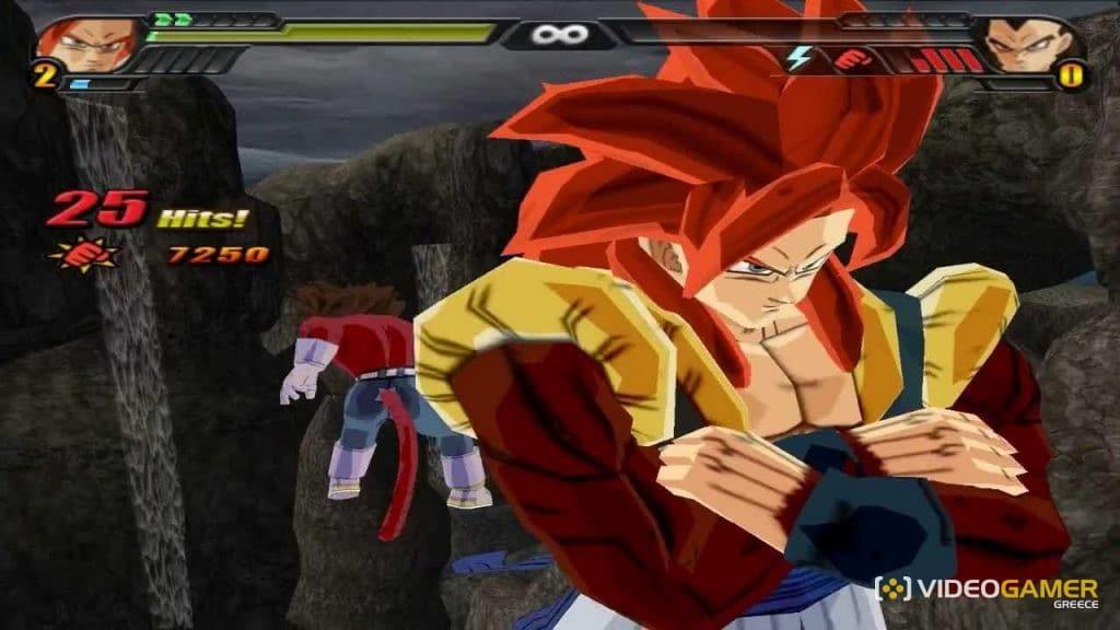 Gogeta SS4 στο PS2;