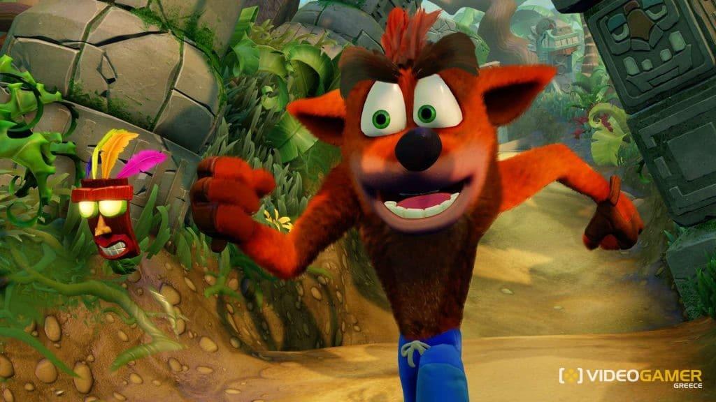 To Crash Bandicoot N.Sane Trilogy έπιασε κορυφή στο UK