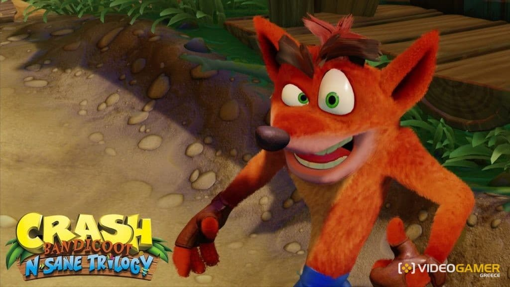 ΔΕΣ το Crash Bandicoot Remaster! - videogamer.gr