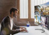 Η μεγαλύτερη 4k κυρτή οθόνη 40 ιντσών της αγοράς - videogamer.gr