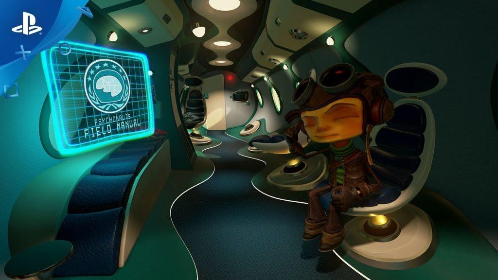 Έρχεται PS VR Psychonauts παιχνίδι τον Φεβρουάριο - videogamer.gr