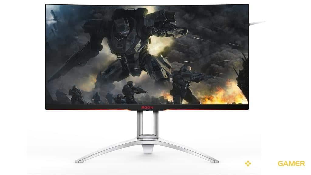 Νέες AOC AGON gaming οθόνες με καμπυλότητα 1800χιλ - videogamer.gr