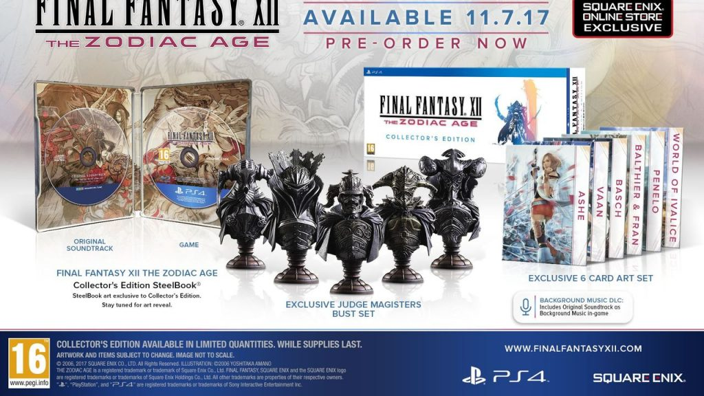 Έρχεται Zodiac Age Collector's Edition για το Final Fantasy XII - videogamer.gr
