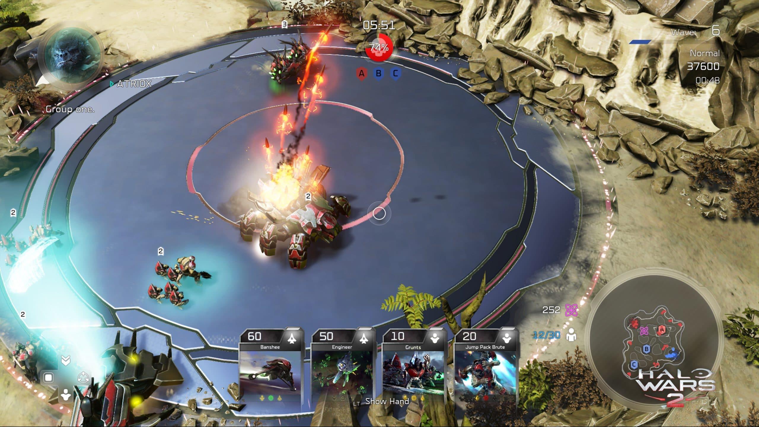 Halo Wars 2 Blitz Blisterback Blast