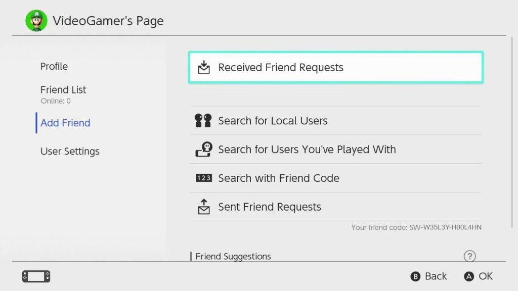 Μέχρι 300 φίλους για το Nintendo Switch μέσω Friend Codes - videogamer.gr