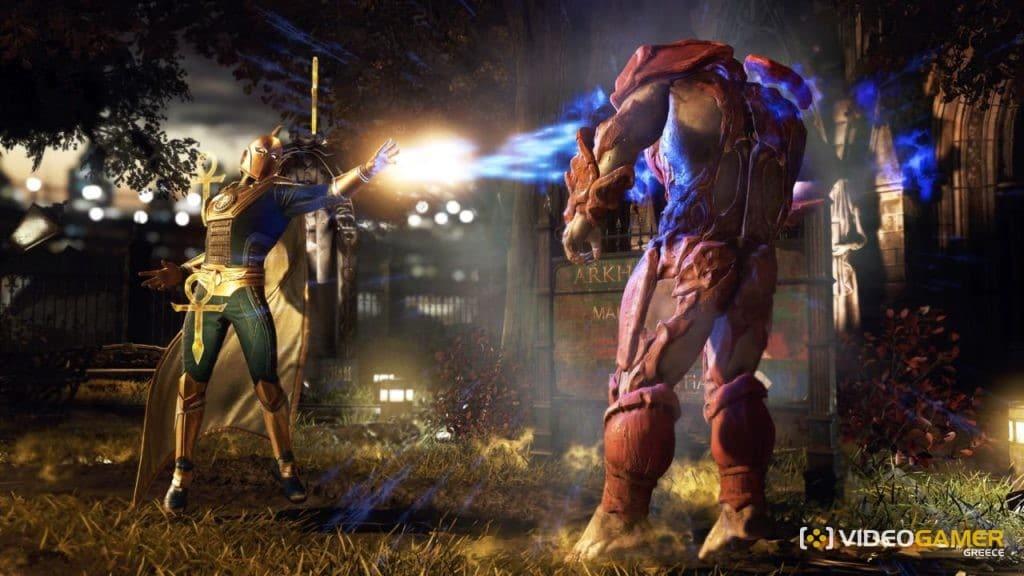Ο Doctor Fate έρχεται στο Injustice 2 - videogamer.gr