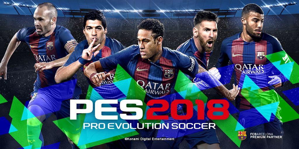 PES 2018 pes2018 pro evolution soccer 2018