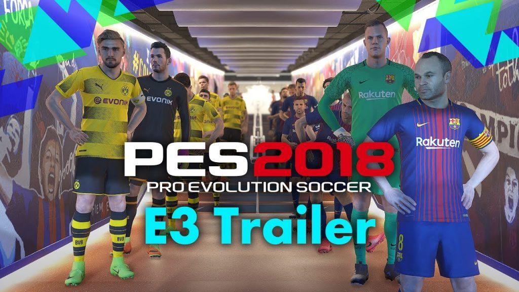 ΔΕΣ ΤΩΡΑ το PES 2018 Τrailer - videogamer.gr
