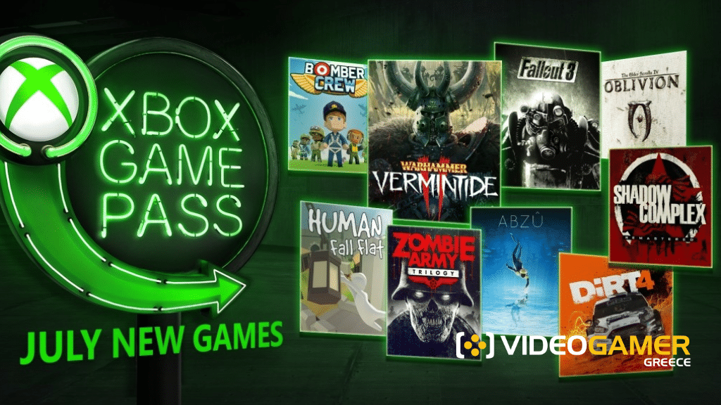 Xbox Game Pass: Ιούλιος 2018