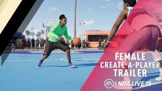 Female Create-A-Player για το NBA LIVE 19