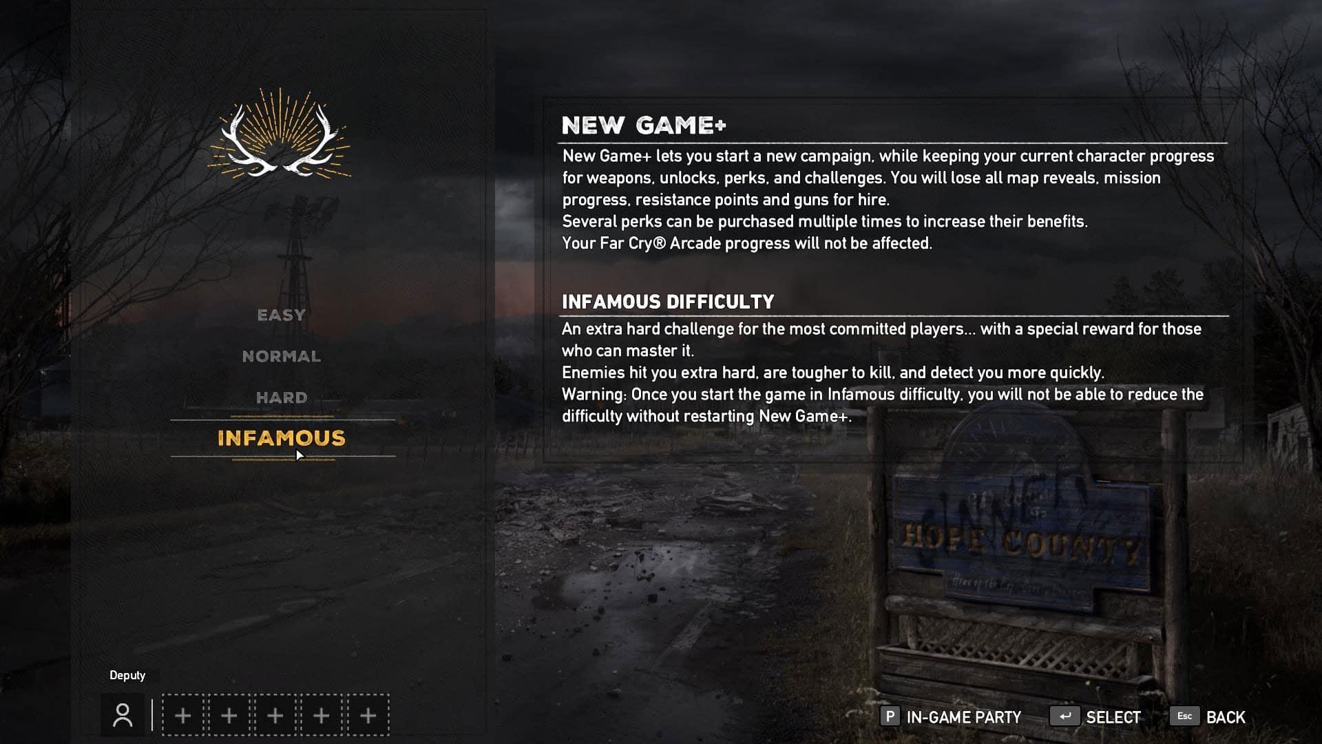 Το Far Cry 5 λαμβάνει NewGame+