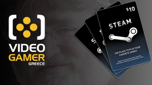 Steam Gift Cards videogamer.gr