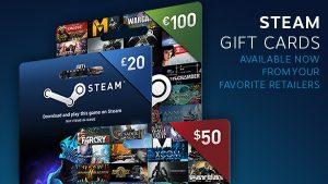 Οι Steam Gift Cards διαθέσιμες στα Ελληνικά Καταστήματα!