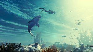 Στο Man Eater μπαίνετε στο ρόλο ενός καρχαρία