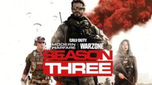 Όλες οι πληροφορίες για την Season 3 του Call of Duty: Warzone
